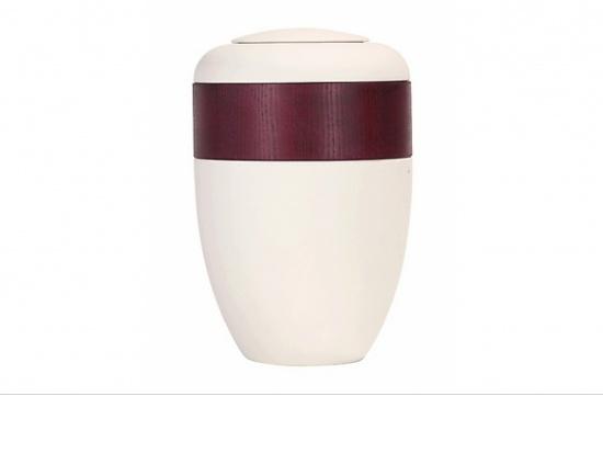 Keramik Ringurne in cremeweiß   <small>(1805910)</small>