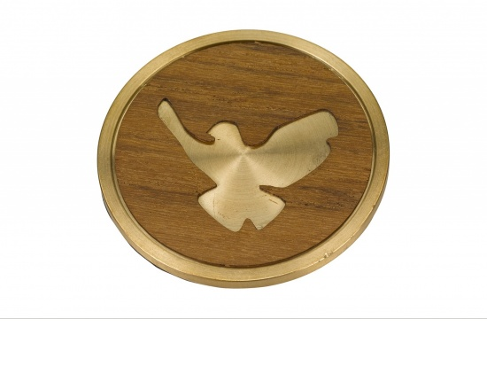Individuelles Medaillon für die Urne mit Tauben-Motiv   <small>(1805822)</small>