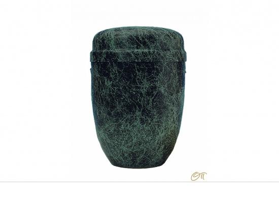Metallurne schwarz mit grüner Marmorierung   <small>(1802001)</small>