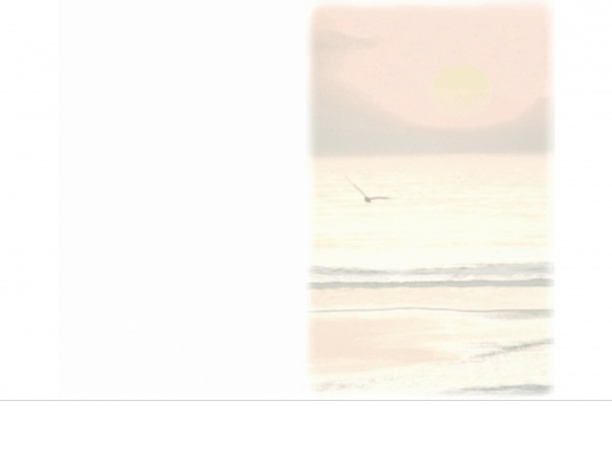 Klappkarte Hochformat VS04 Sonnenuntergang farbig Aussenseite   <small>(VS04)</small>