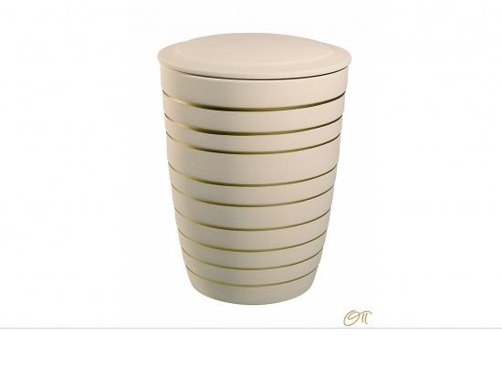 "Keramikurne ""Linea"" sandbeige   <small>(1805110)</small>"