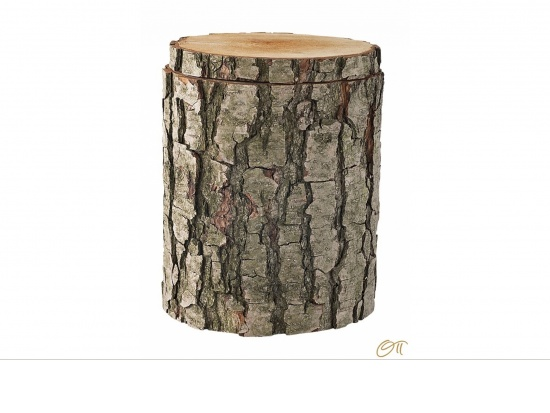 Massivholzurne aus einem Erlenstamm   <small>(1805061)</small>