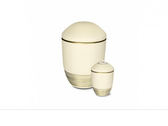 """Keramikurne """"Wave"""" beige   <small>(1805104)</small>"""