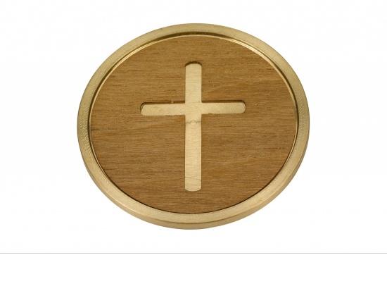 Individuelles Medaillon für die Urne mit Kreuz-Motiv   <small>(1805821)</small>