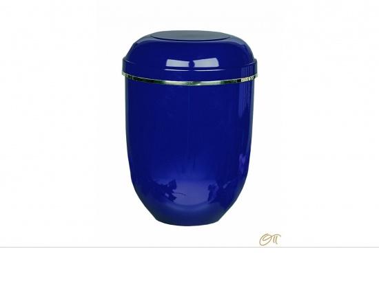 Naturstoffurne in blau   <small>(1807060)</small>