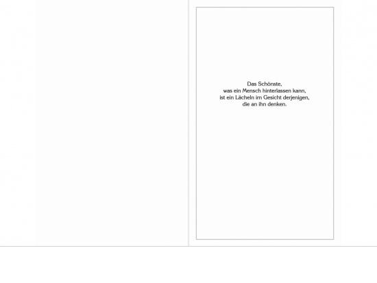 Klappkarte Hochformat WF04 feiner Rahmen Aussenseite   <small>(WF04)</small>