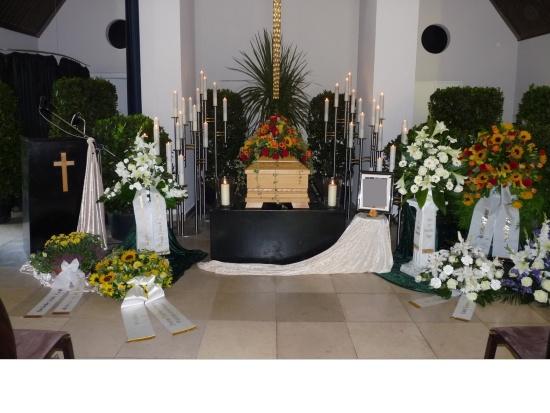 Nordfriedhof Sargdekoration   <small>(Deko FH Nordfriedhof 1102)</small>
